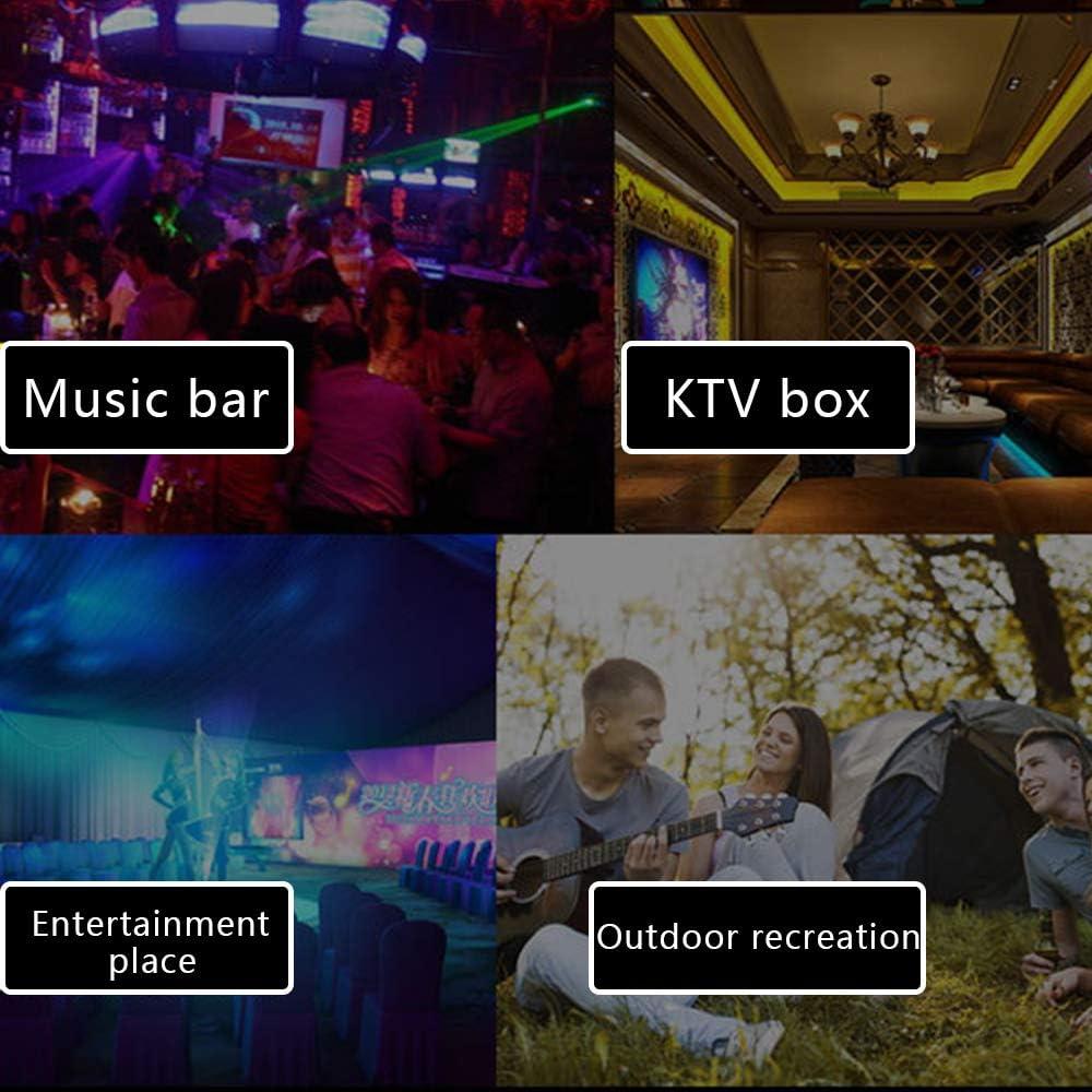 Halloween DJ Disco Stage Lights-Multi Colors for Xmas Parties Club Pool Church Wedding Karaoke NEPAK 3 Pack USB Mini Disco Light Car Atmosphere Light Party Lights Sound Activated