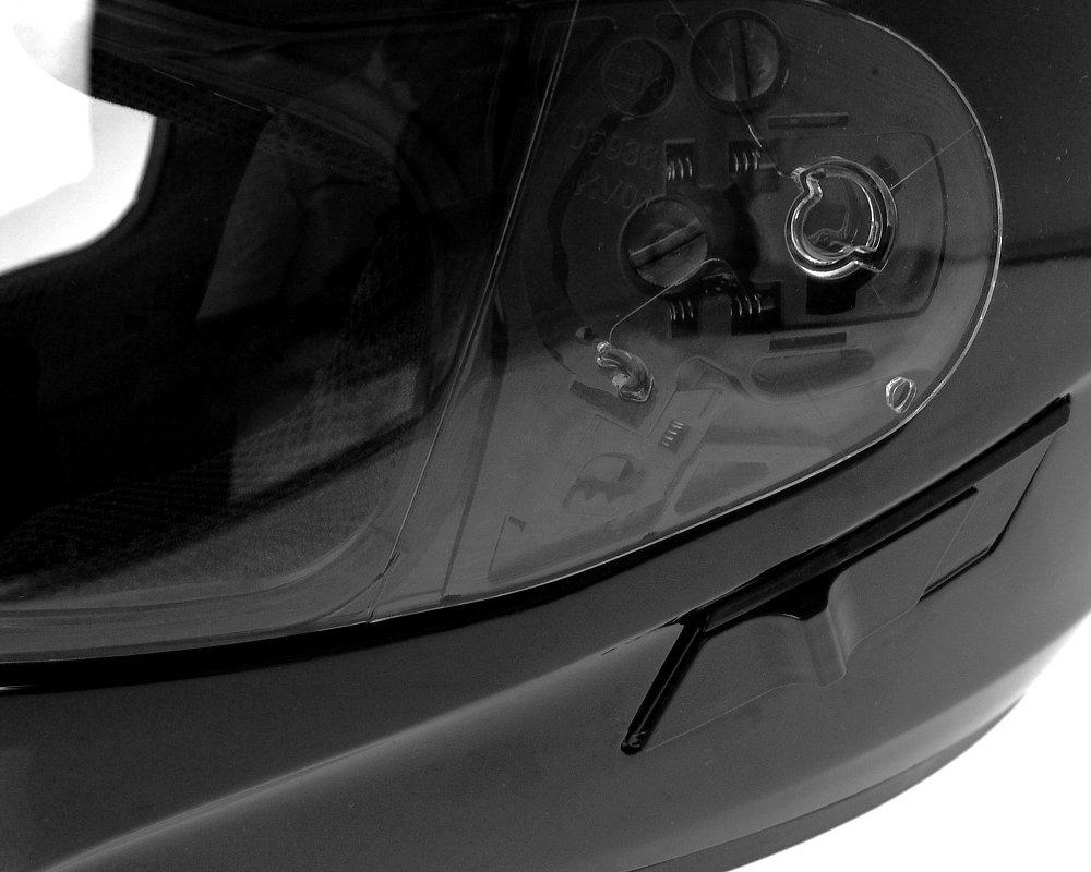 Gr/ö/ße S Rollerhelm WACHMANN WA-20 Eques lila//schwarz gl/änzend Integralhelm Motorradhelm
