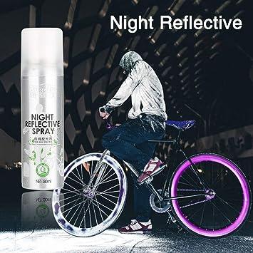 Spray Reflectante Nocturno para Pintura de Seguridad antiraccidente, para Bicicleta de Montaje, Spray Nocturno TAOtTAO: Amazon.es: Deportes y aire libre