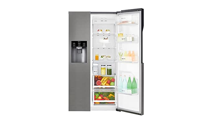Side By Side Kühlschrank Real : Lg electronics gsl 361 icez side by side a 179 cm 375 kwh