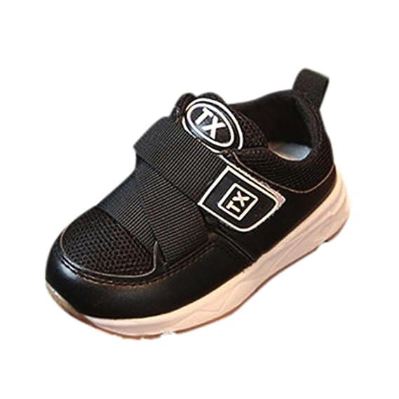 ZODOF Bebés Boys Girls Mesh Soft Sole Shoes Sneakers Vintage Calzado Deportivo Running Zapatos Ligero y Transpirables para Unisex Niños: Amazon.es: Ropa y ...