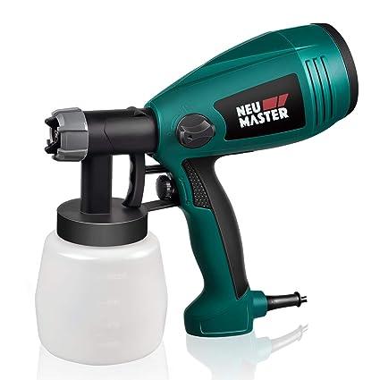 50e0075426faf Paint Sprayer NEU MASTER N3020 Electric HVLP Spray Gun, Flow Control Knob,  Easy to Clean with 3 Spray Patterns