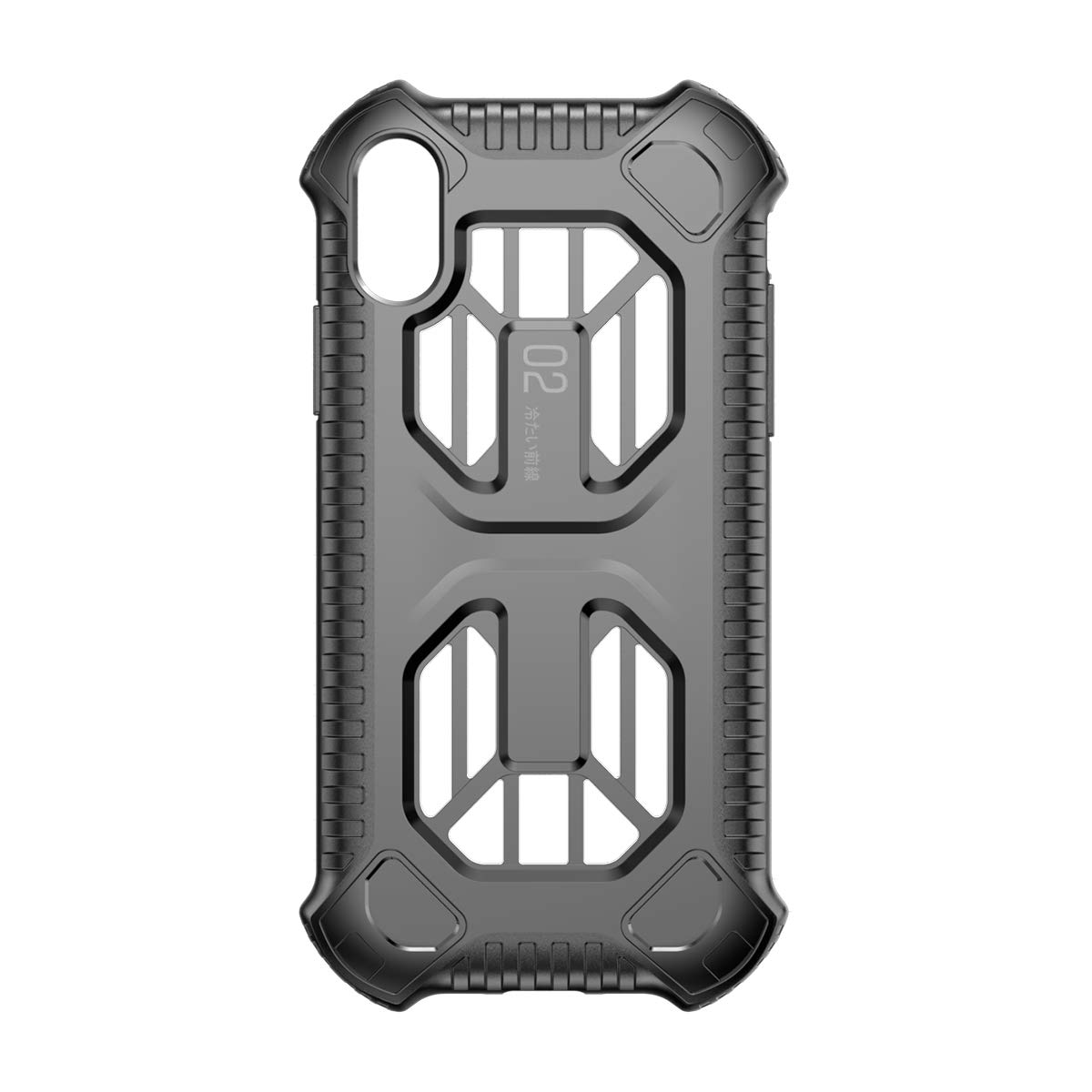 iPhone XR Case, Baseus Full-Body Rugged Shock Reduction Protective Cover for iPhone XR 6.1 Inch (Black)