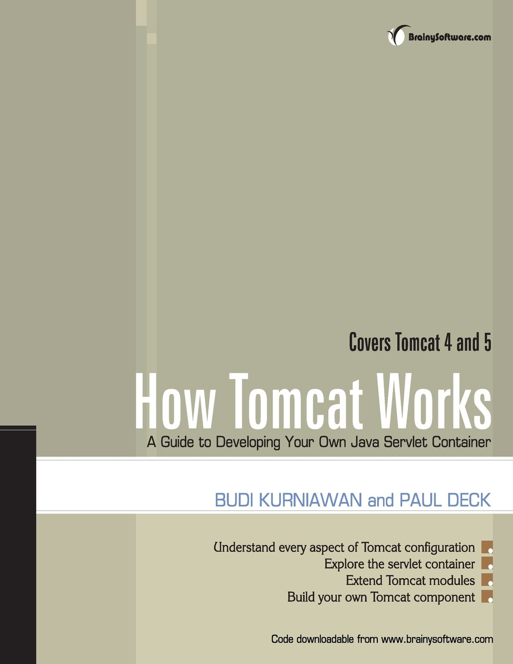 How tomcat works a guide to developing your own java servlet how tomcat works a guide to developing your own java servlet container budi kurniawan paul deck 9780975212806 amazon books baditri Images