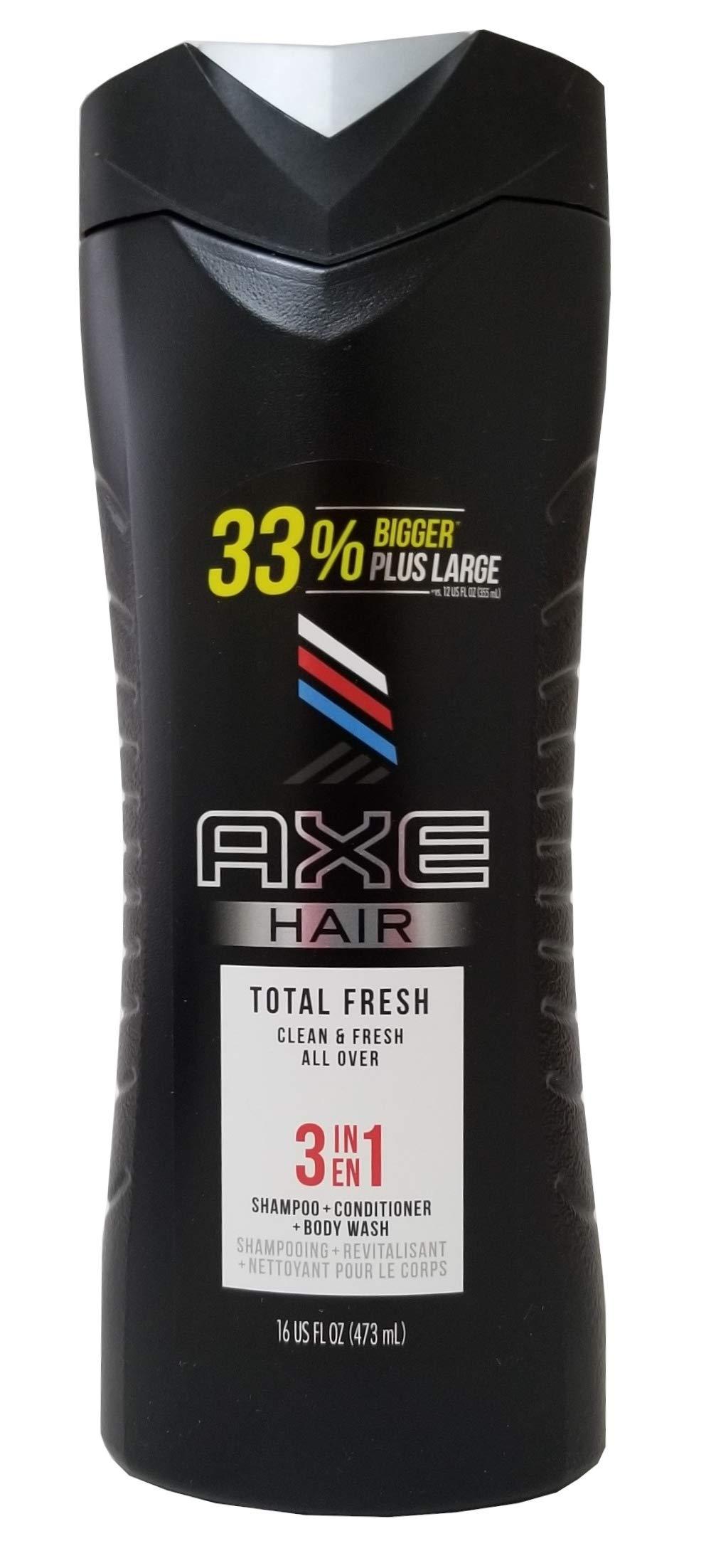 Axe Hair 3 in 1 - Total Fresh - Shampoo