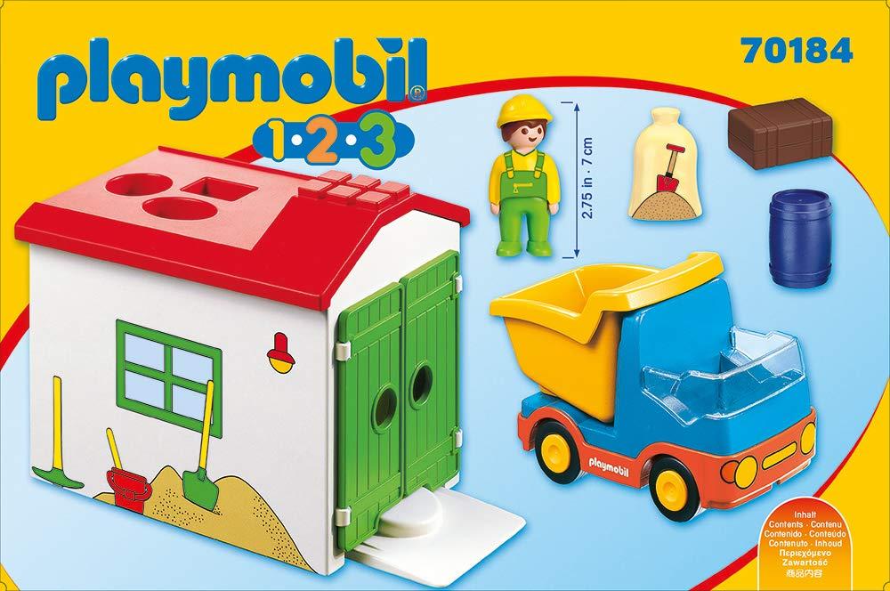 Playmobil 70184/1.2.3/Camiones con NOU Garage