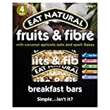 Eat Natural Fruit & Fibre Coconut Breakfast Bar 4 x 40g - Pack of 2