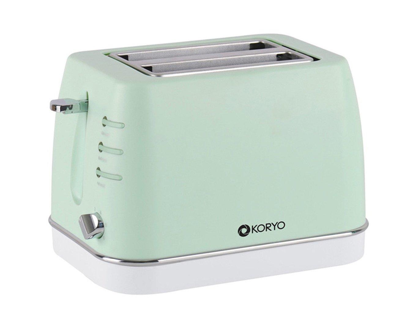 Koryo KPT1368BCG 2 Slice Pop up Toaster