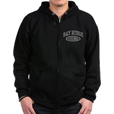 5980d1111 CafePress - Bay Ridge Brooklyn Zip Hoodie (dark) - Zip Hoodie, Classic  Hooded