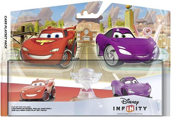 Disney Infinity Pack Play Set Cars: Play Set + 2 figuras (Mc Queen y Holley): Amazon.es: Videojuegos