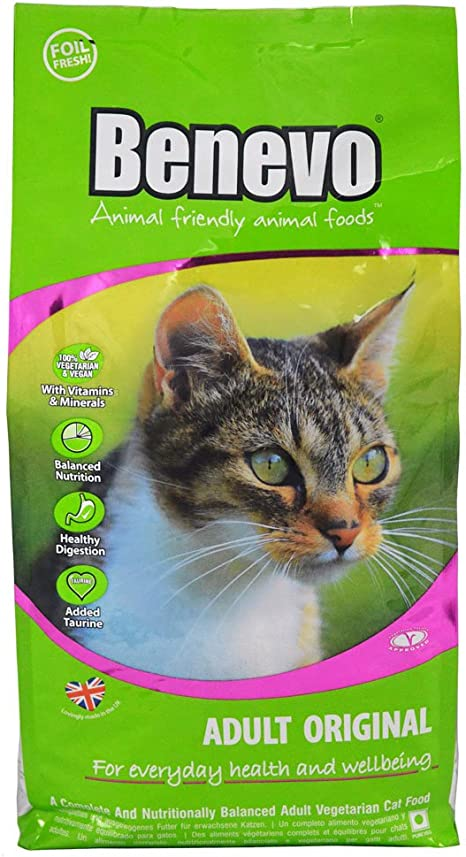 Benevo Adult Original Complete Vegetarian Vegan Cat Food