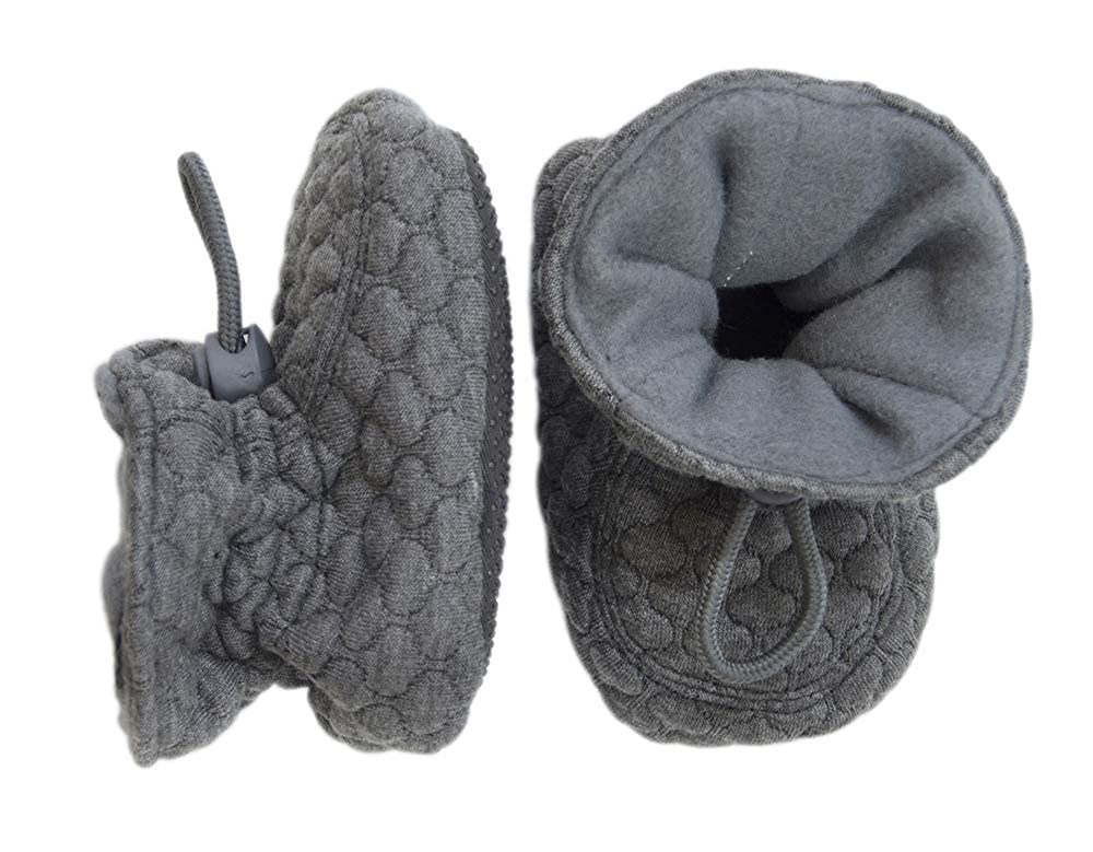 Melton Unisex Quilted Baby /& Toddler Booties