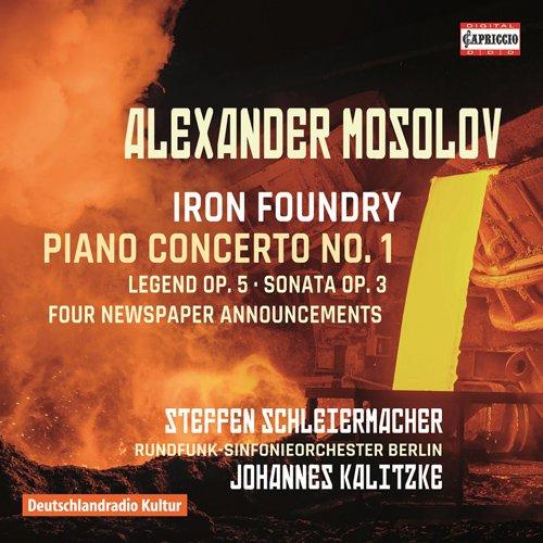 Alexander Mosolov: Iron Foundry - Piano Concerto No. ()