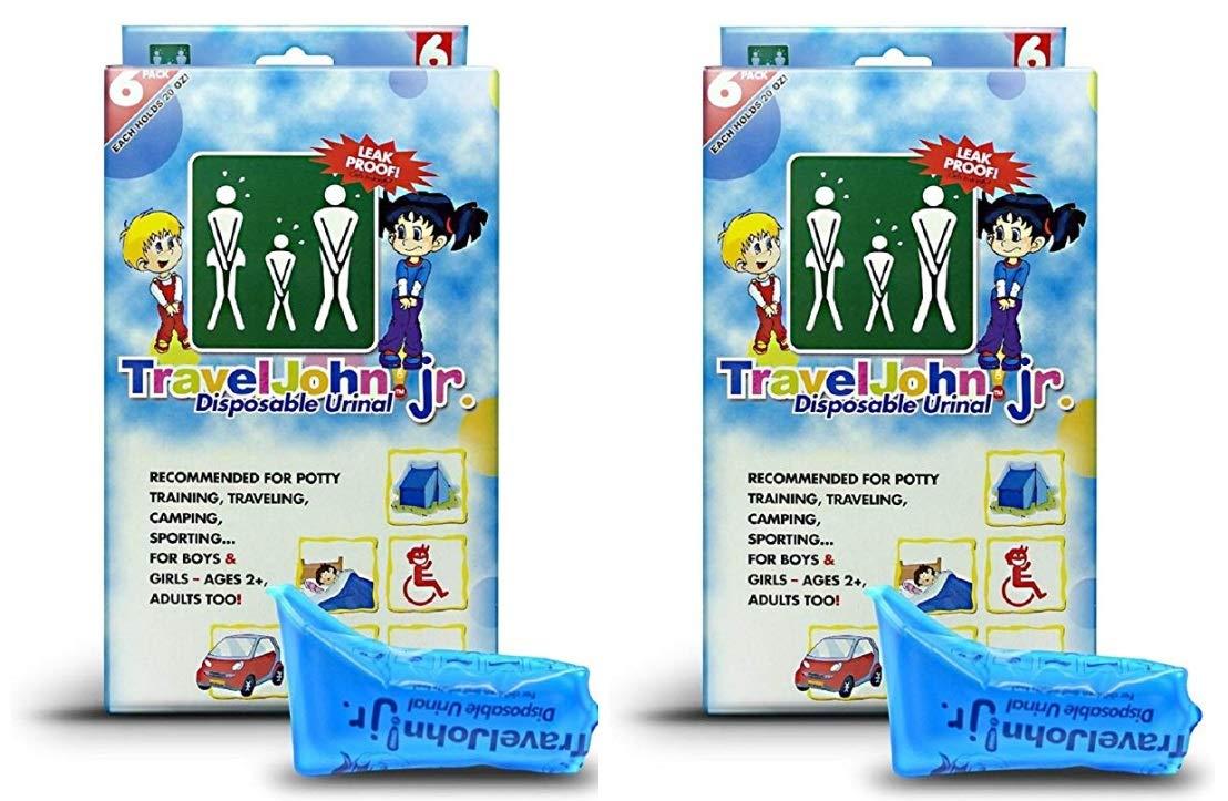 Travel John 12 Bags of Junior Disposable Urinal Bags