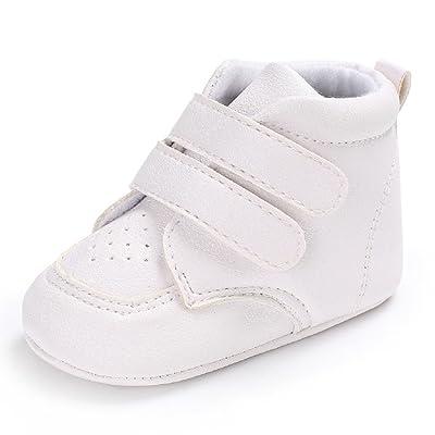 1017840f068c7 Chaussures de bébé Auxma Chaussures pour bébé garçons fille Sneaker  Chaussures en cuir douce et douce pour bébé pour 3-6 6-12 12-18 mois
