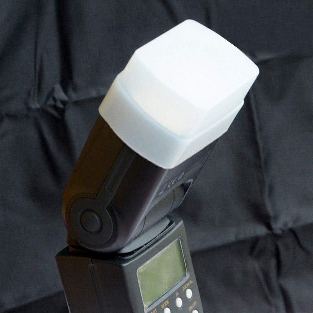 Semoic Silicon Flexible Flash Bounce Diffuser Softbox White+Yellow+Blue for SB800//SB600 YN-460 YN-465 YN-467 YN-468