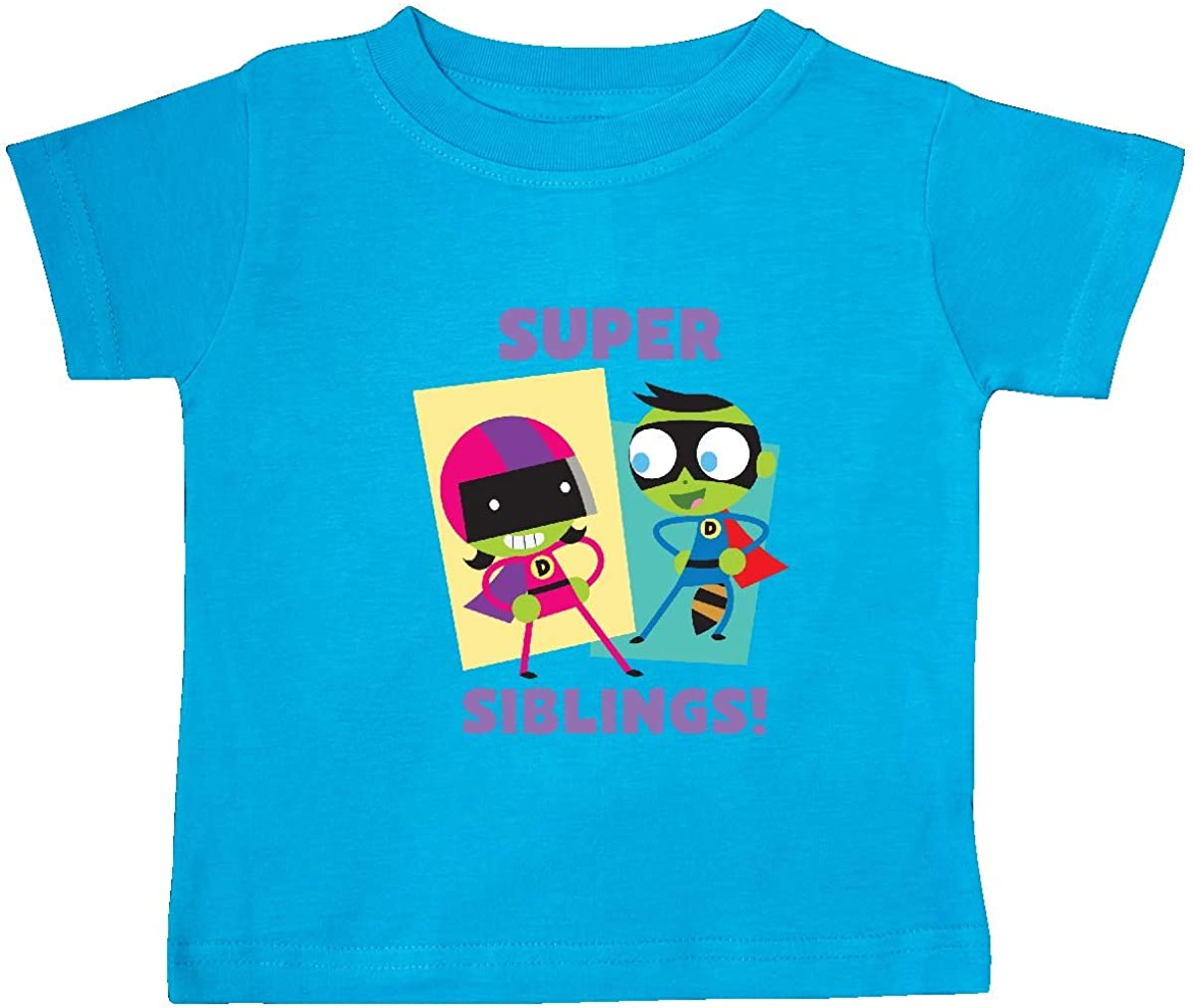 inktastic Dee and Dell Super Siblings Baby T-Shirt PBS Kids