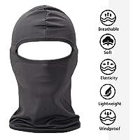 FENTI cara Máscara de protección Facekini Mantas, diseño de cráneo, color negro talla única regulable para deportes exteriores ciclismo esquí snowboard Surf para bicicleta, Moto, bicicleta, Airsoft y Paintball, Quad