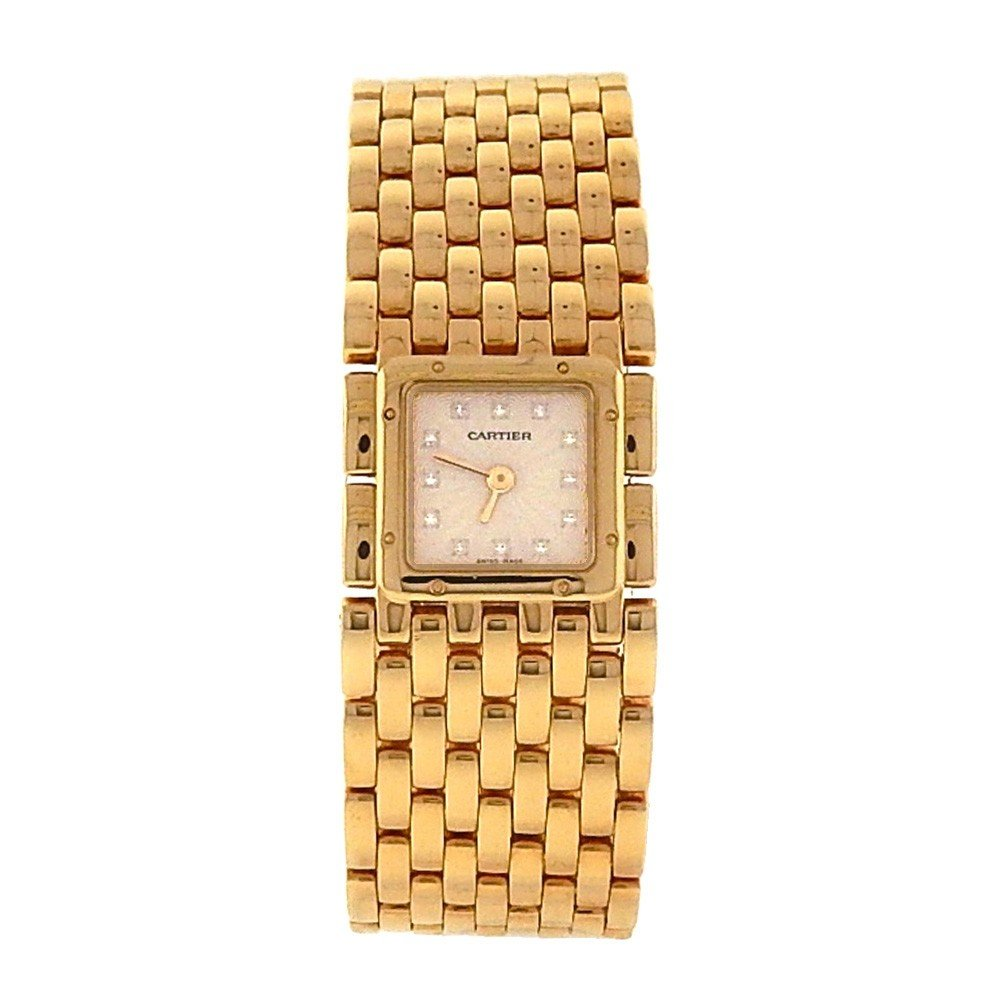 Cartier Panthere de Cartier analog-quartz womens Watch 2449 (Certified Pre-owned)