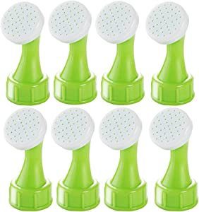MyLifeUNIT Bottle Cap Sprinkler, Bonsai Bottle Watering Spout for Indoor (Set of 8)