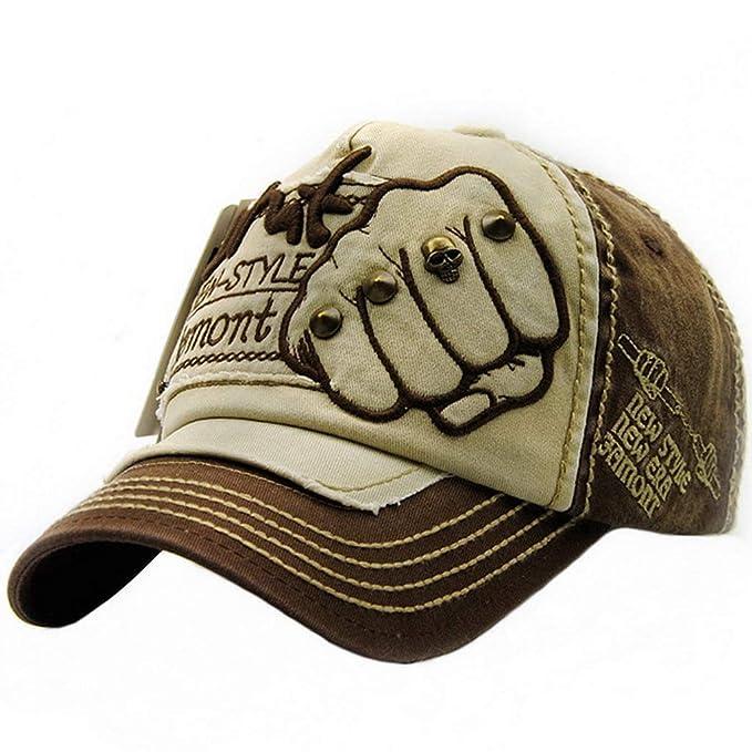 Ukerdo Cowboy Gorras de Béisbol Hombre Mujer Moda Mezclilla ...