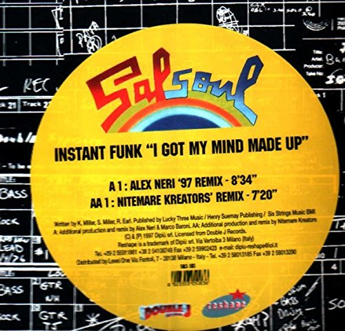 I got my mind made up (9:36 min./3:20 min., pus 'Crying [8:57min.]', BCM-dance classics series) / Vinyl Maxi Single [Vinyl 12''] ()