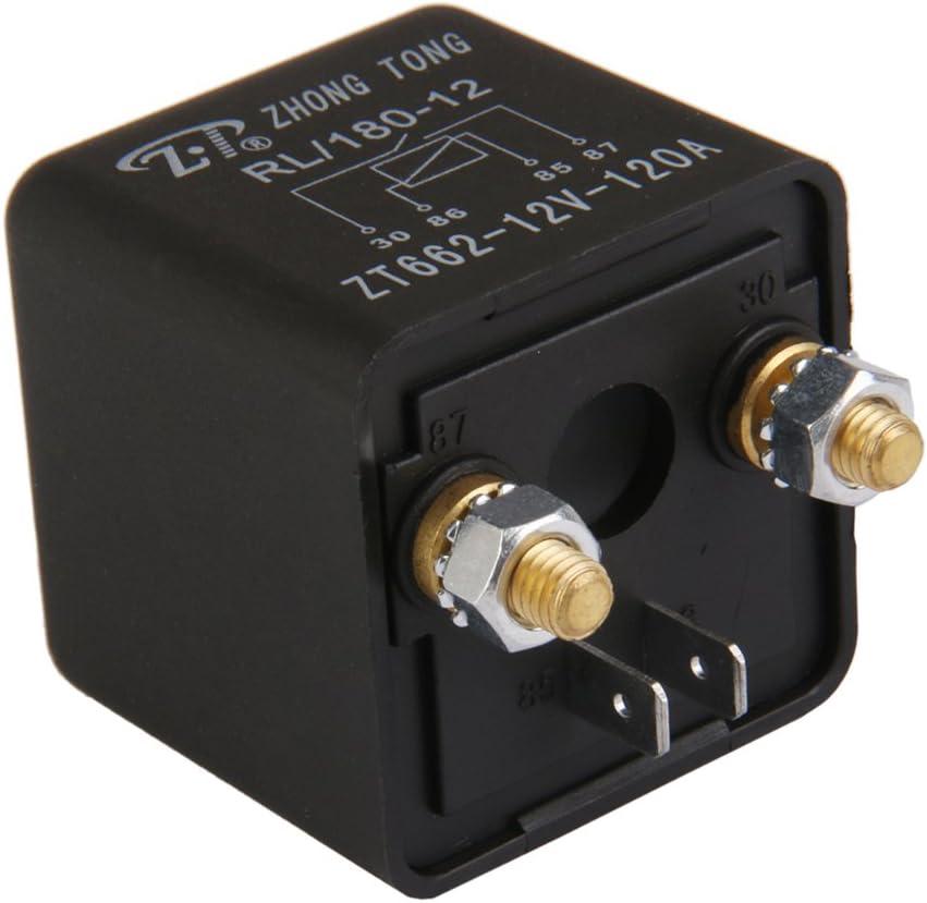 Kfz Relais 12v Dc 120a 120 Amp Spst 4 Pin 4p Schliesserrelais Umschaltrelais Auto