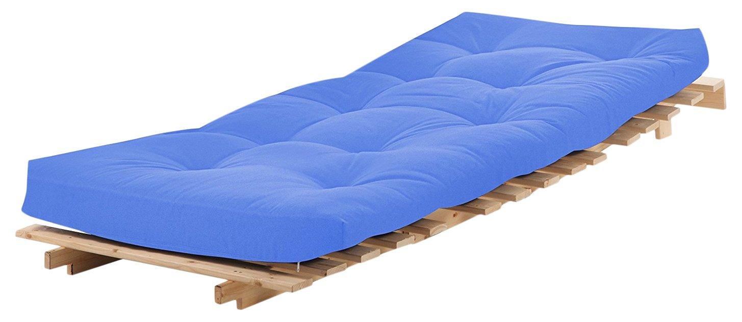 Visco Therapie polsterfüllung 3-Sitzer Futon Matratze, lila, 135 x ...