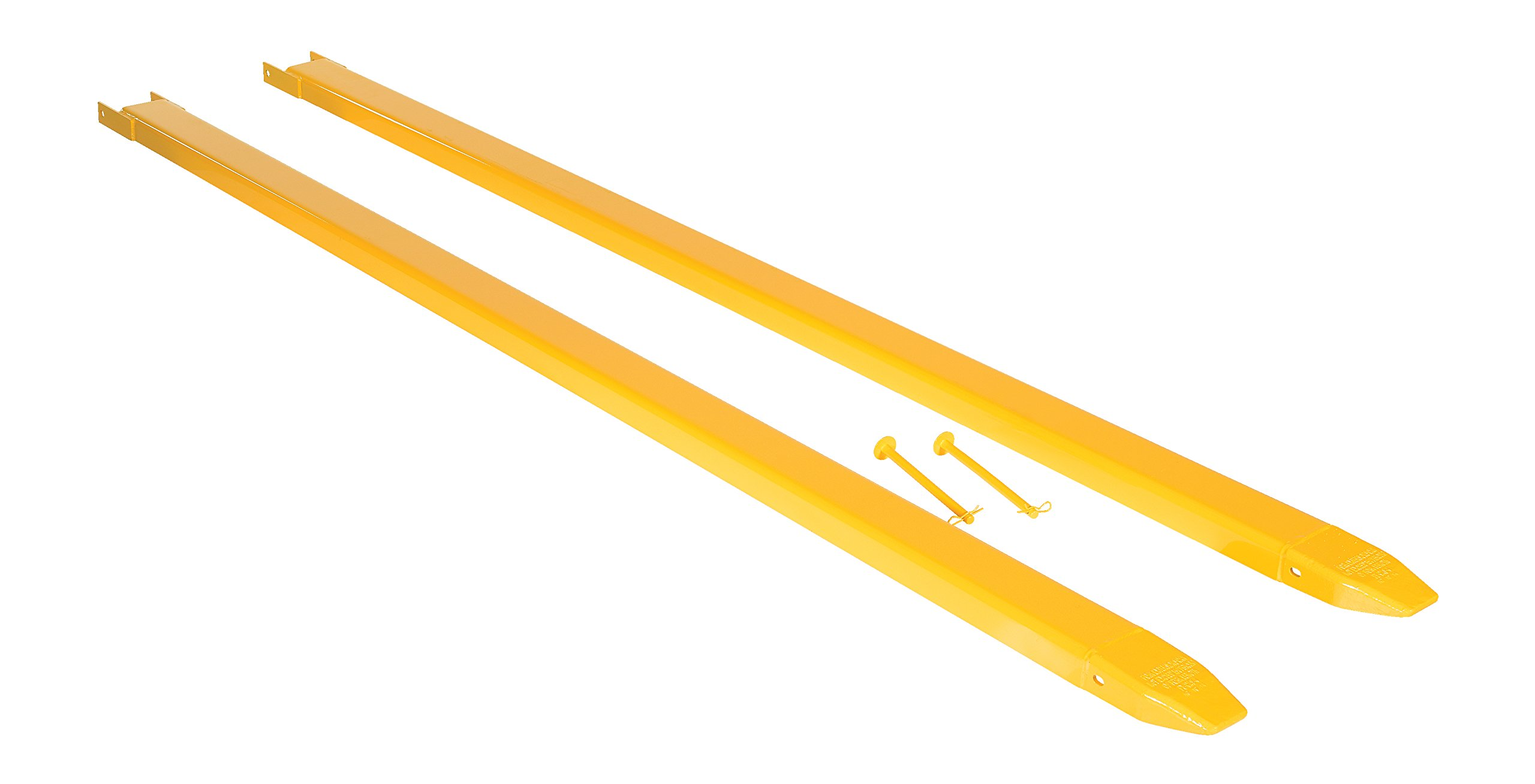 Vestil Fork Extensions Pin Style 108L X 4W in, Pair