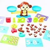 Fycooler Monkey Balance Counting Math Game STEM Toys for Girls & Boys 3 4 5 Years Old ,Fun, Educational Children's Gift…