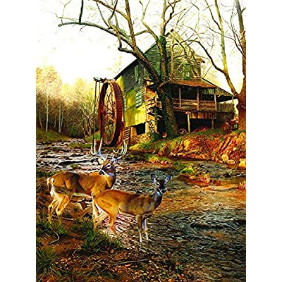 Sunsout 17612 Kemp Mill Creek Crossing Puzzle 1000 Pezzi