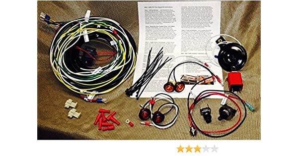 UTV/SXS/ATV Turn Signal Kit w/HORNfor Polaris Ranger 900XP line Bright 3/4