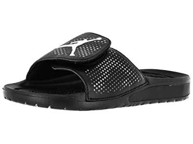 0586427ae3b8c4 Jordan Kids Hydro 5 BG Sandal Black White Cool Grey Size 7