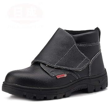 6a32e2f9778 Zapatos de seguridad Botas de soldador para hombres Calzado de seguridad  Calzado perforado Botas de seguridad