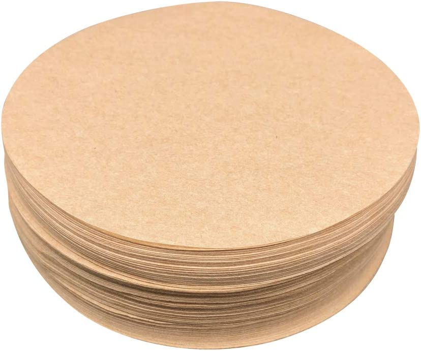 "Round Baking Paper Tin Liners 250 pack Greaseproof Circles 5/"" Inch"