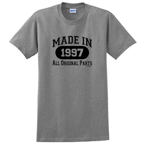 21st Birthday Gifts Made 1997 All Original Parts T Shirt