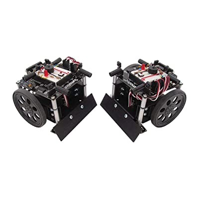 Parallax SumoBot Robot Competition Kit (Serial with USB Adapter and Cable): Home Audio & Theater