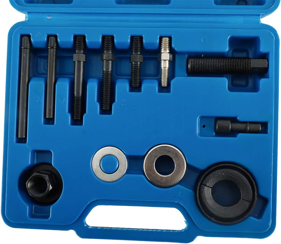 BTSHUB 13pc Pulley Puller and Installer Kit Power Steering Pump Remover
