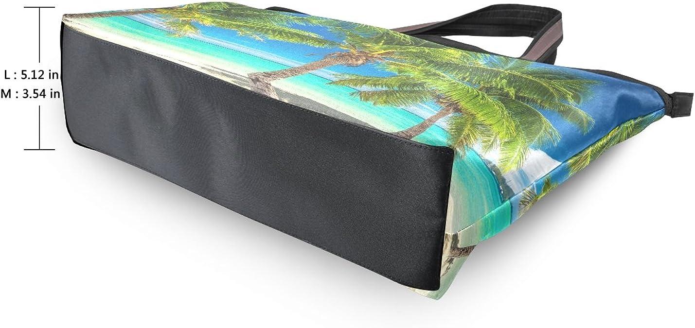 WIHVE Fashion Womens Coin Purse Tropical Turquoise Beach Blue Sea Vintage Pouch Mini Purse Wallets