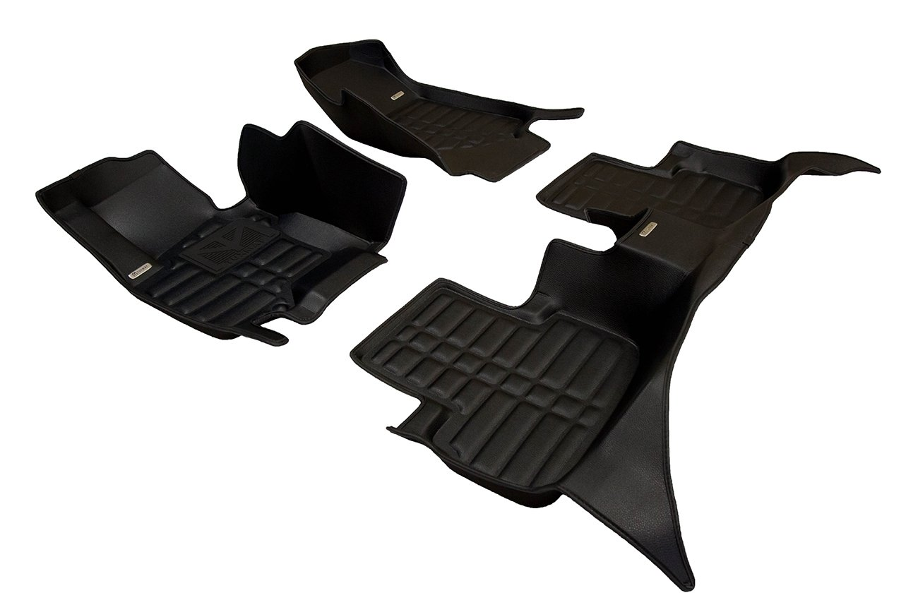 Largest Coverage Also Look Great in the Summer./The Best/Infiniti QX70 Accessory. All Weather TuxMat Custom Car Floor Mats for Infiniti QX70 2014-2020 Models/- Laser Measured Full Set - Black Waterproof The Ultimate Winter Mats