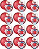 Kong Rubber Flyer, Small - 12 Pack, Red