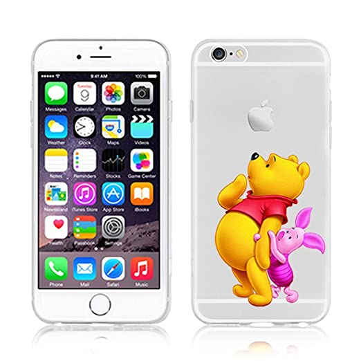 211 opinioni per Disney PRINCESS;MINIONS;WINNIE ;trasparente in poliuretano per iPhone-Cover per