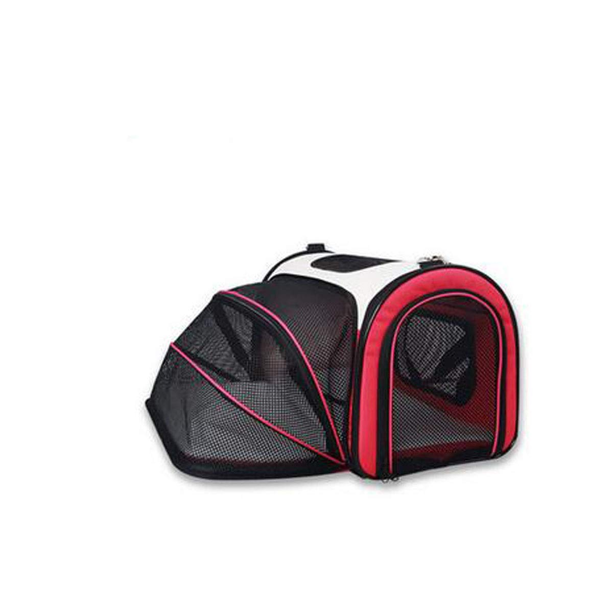 Red Chenjinxiang01 Scalable Large-capacity Portable Pet Back For A Variety Of Outdoor Sports, Hiking, Camping And Travel. (color   Red)