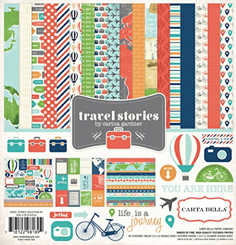 Carta Bella Paper Company Travel Stories