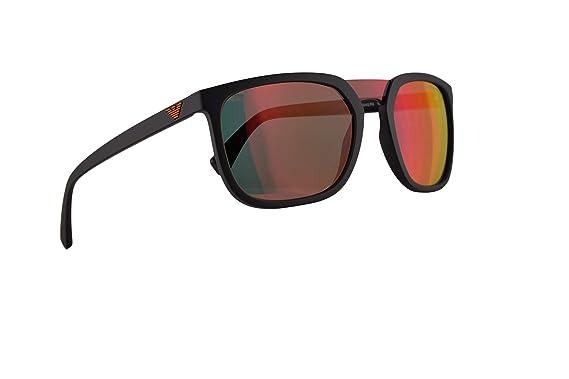 Emporio Armani EA4123 Gafas de Sol Negro Mate Con Lentes De ...