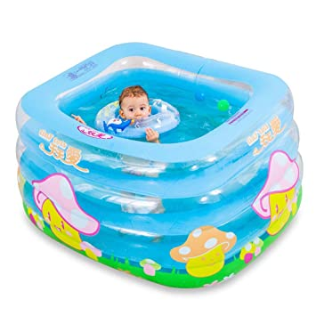 Amazon.com: Bañera hinchable para bañera – Gran grueso ...