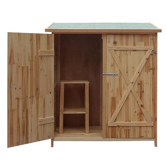 Cobertizo madera barato
