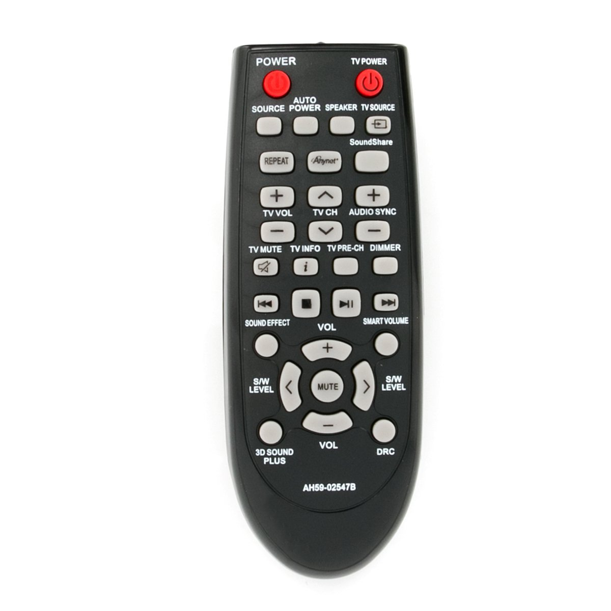 New AH59-02547B Replaced Remote fit for Samsung Sound Bar AH68-02644D-00 HW-F450ZA HW-F450 PS-WF450 HWF450ZA HWF450 PSWF450