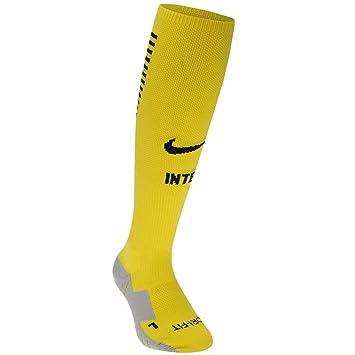 Nike Inter Milán Home calcetines 2016 2017 amarillo/negro de balón de fútbol, amarillo y negro: Amazon.es: Deportes y aire libre