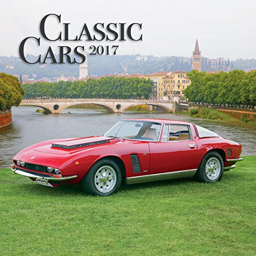 Turner Photo 2017 Classic Cars Photo Wall Calendar, 12 x 24 inches opened (17998940014)